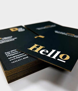Four19 media black business cards reheart Gallery